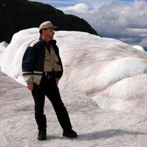 Mike On Mendenhall Glacier