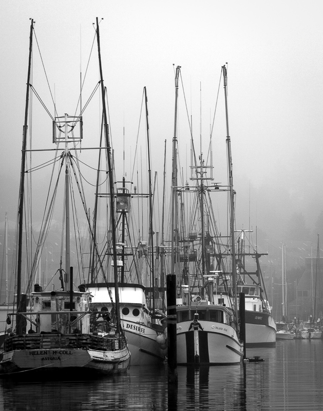 Fishing Boats at Newport