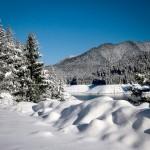 Snow at Clear Lake