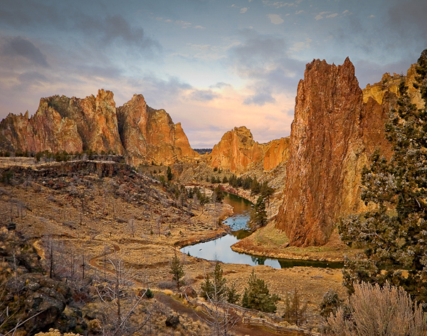 Smith Rock Morning