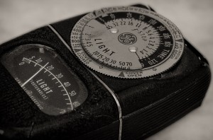 Old  GE Light Meter