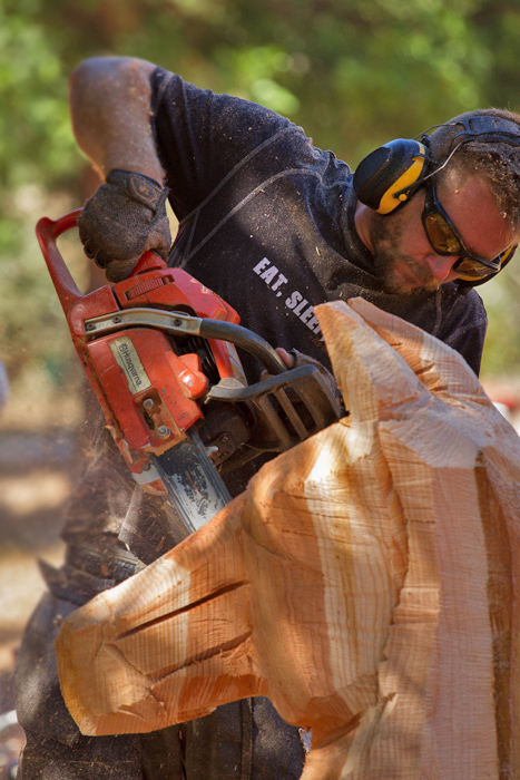 Chainsaw art festivals oregon